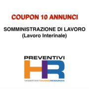 Coupon 10 annunci