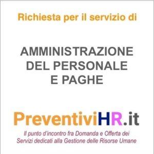 Amministrazione e paghe